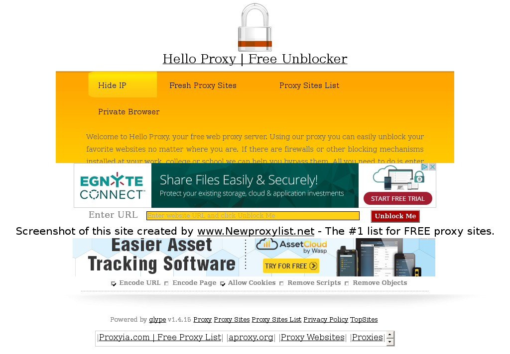 Proxy site list for school | 15 Best List of Proxy Sites to Unblock